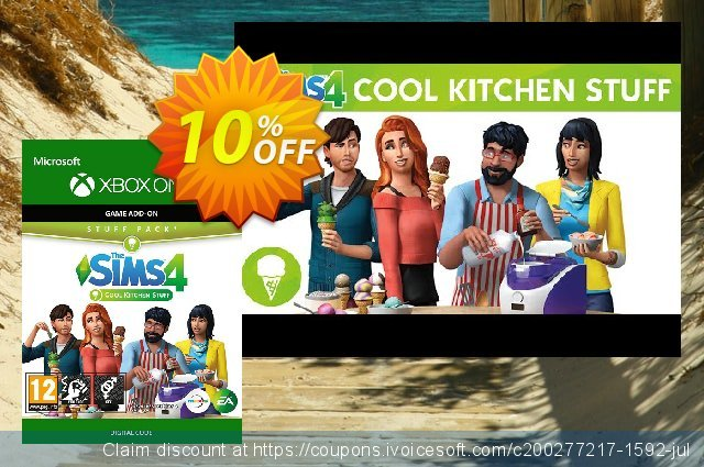 The Sims 4 - Cool Kitchen Stuff Xbox One  신기한   제공  스크린 샷