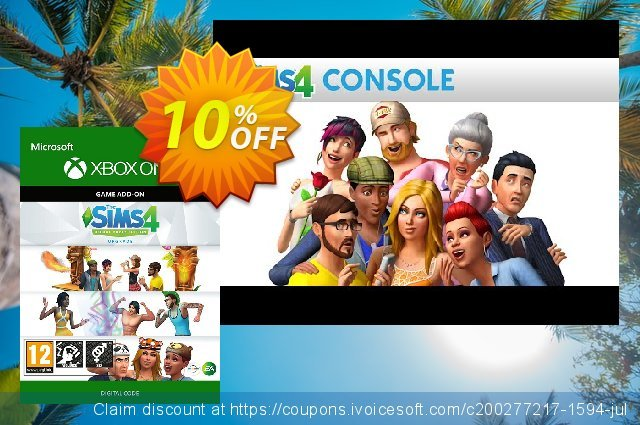 The Sims 4 - Deluxe Party Upgrade Xbox One  위대하   세일  스크린 샷