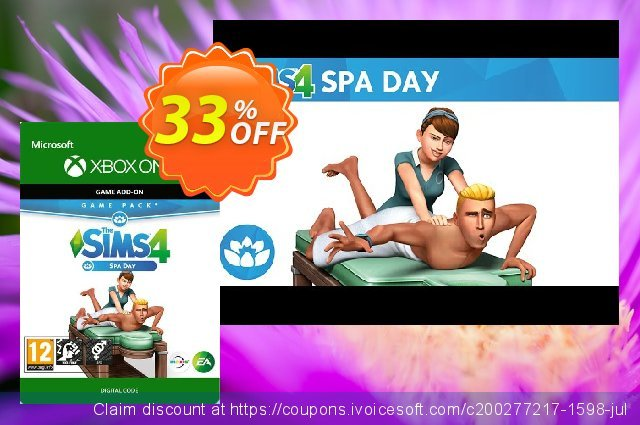 The Sims 4 - Spa Life Game Pack Xbox One discount 25% OFF, 2020 Halloween offering sales