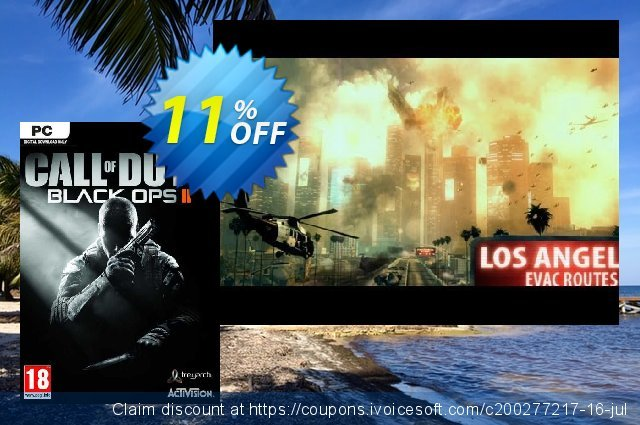 Call of Duty: Black Ops II 2 (PC) discount 10% OFF, 2021 Mother Day offering sales. Call of Duty: Black Ops II 2 (PC) Deal