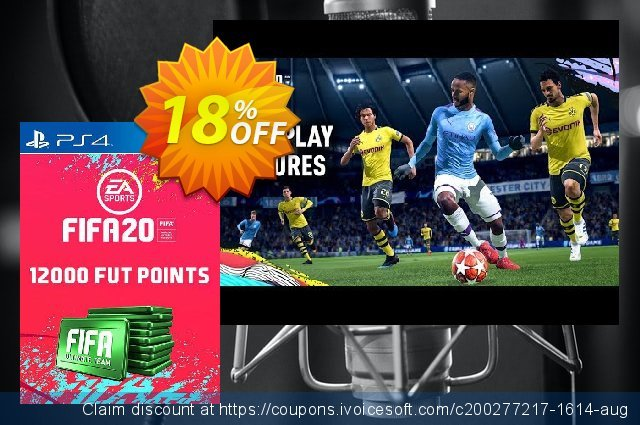 12000 FIFA 20 Ultimate Team Points PS4 (Italy)  최고의   제공  스크린 샷