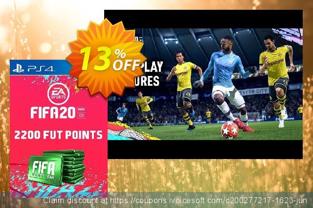 2200 FIFA 20 Ultimate Team Points PS4 (Germany)  경이로운   가격을 제시하다  스크린 샷