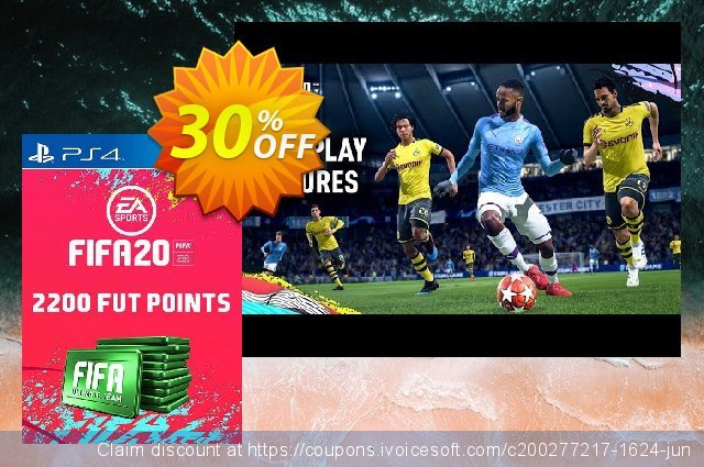 2200 FIFA 20 Ultimate Team Points PS4 (Italy) discount 16% OFF, 2020 Halloween offering sales