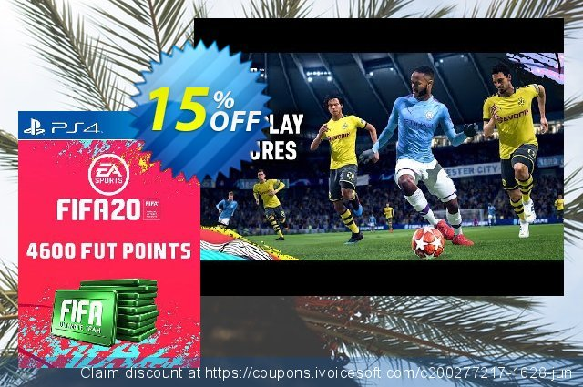 4600 FIFA 20 Ultimate Team Points PS4 (Germany)  서늘해요   제공  스크린 샷