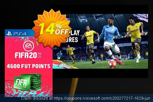 4600 FIFA 20 Ultimate Team Points PS4 (Italy) discount 17% OFF, 2020 Back to School coupons deals
