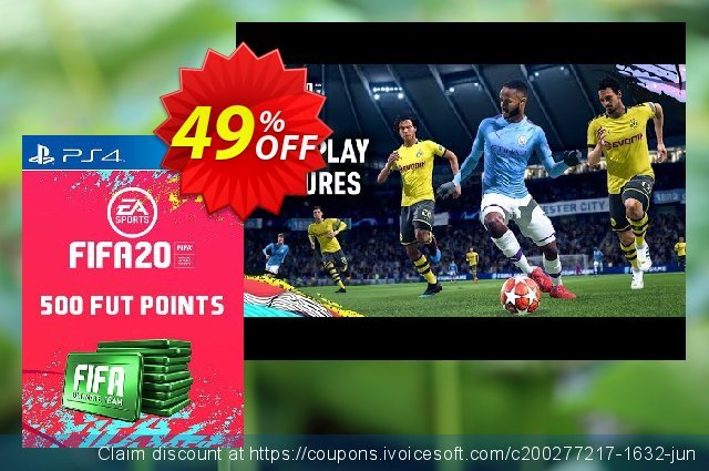 500 FIFA 20 Ultimate Team Points PS4 (Austria) discount 10% OFF, 2020 Student deals offering discount