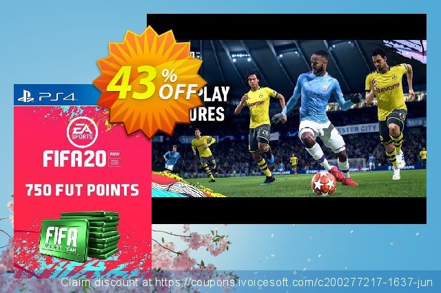 750 FIFA 20 Ultimate Team Points PS4 (Austria) discount 11% OFF, 2020 Teacher deals offering sales