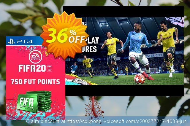 750 FIFA 20 Ultimate Team Points PS4 (Italy) discount 13% OFF, 2020 College Student deals offering sales