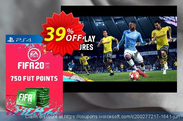 750 FIFA 20 Ultimate Team Points PS4 (Spain) discount 11% OFF, 2020 College Student deals offering sales