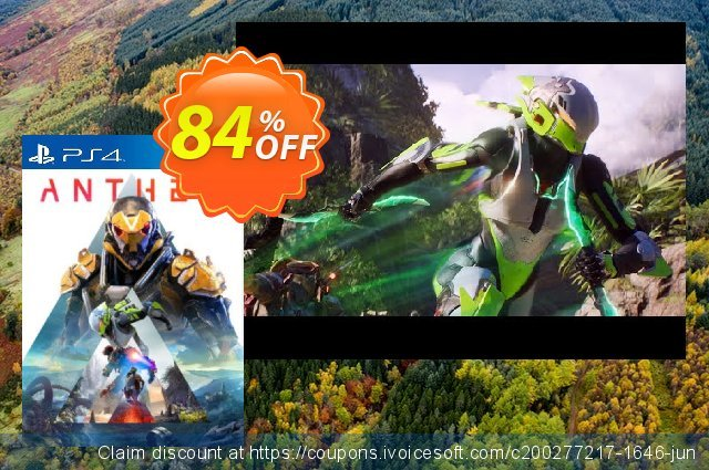 Anthem PS4 DLC discount 84% OFF, 2020 Back-to-School promotions promotions