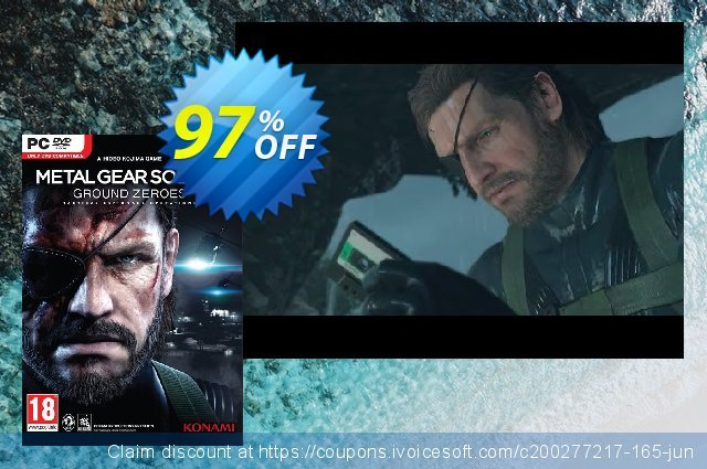 Metal Gear Solid V 5: Ground Zeroes PC  경이로운   세일  스크린 샷
