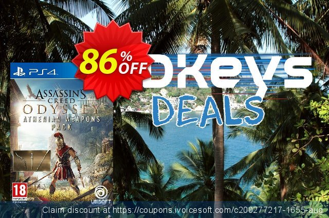 Assassins Creed Odyssey Athenian Weapons Pack DLC PS4  특별한   제공  스크린 샷