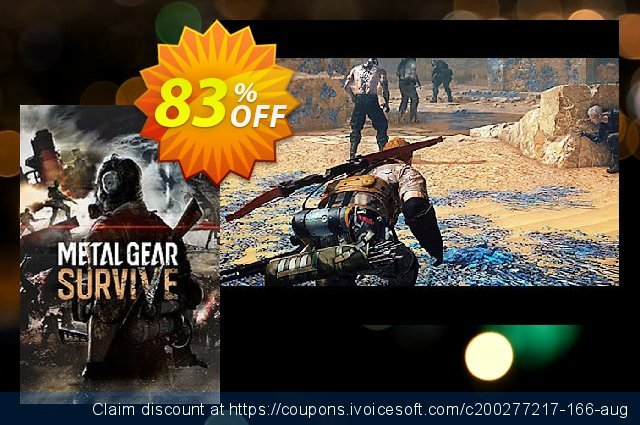 Metal Gear Survive PC discount 81% OFF, 2020 University Student deals sales
