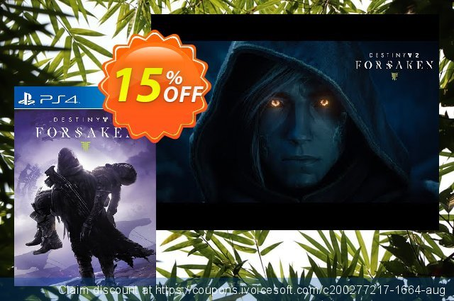 Destiny 2 Forsaken PS4 (Germany) discount 12% OFF, 2020 Halloween promotions