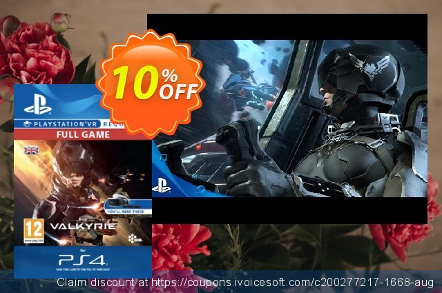EVE Valkyrie VR PS4 discount 10% OFF, 2020 Back to School deals offer
