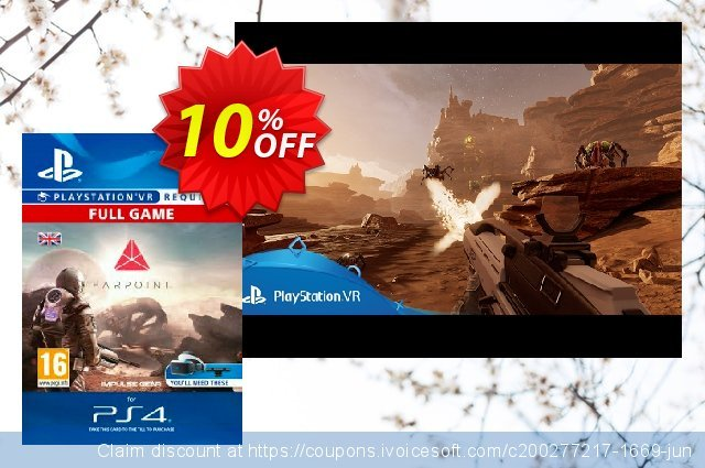 Farpoint VR PS4 discount 10% OFF, 2020 Back to School shopping discount