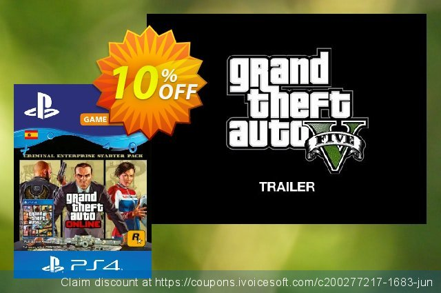 Grand Theft Auto Online - Criminal Enterprise Starter Pack PS4 (Spain)  굉장한   제공  스크린 샷