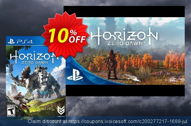 Horizon Zero Dawn Complete Edition PS4 US/CA  서늘해요   프로모션  스크린 샷