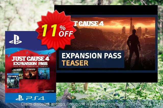 Just Cause 4 Expansion Pass PS4 (Germany)  대단하   촉진  스크린 샷