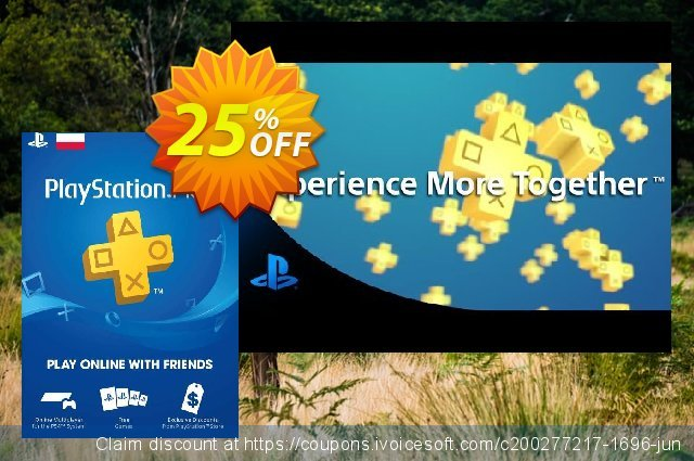 PlayStation Plus - 12 Month Subscription (Poland) 대단하다  매상  스크린 샷
