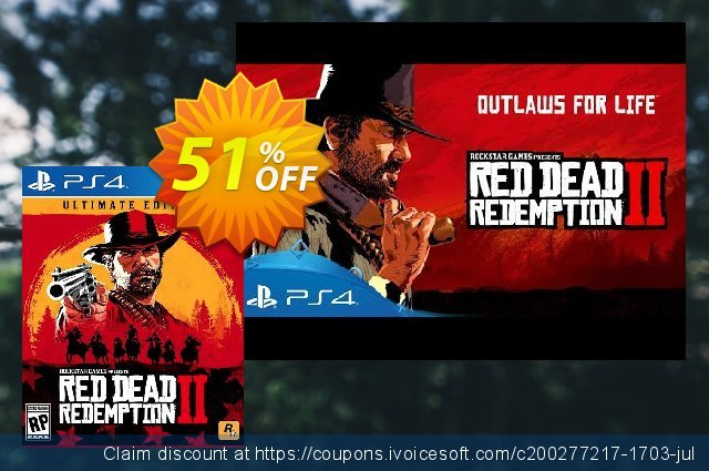 Red Dead Redemption 2 Ultimate Edition PS4 US/CA  훌륭하   촉진  스크린 샷