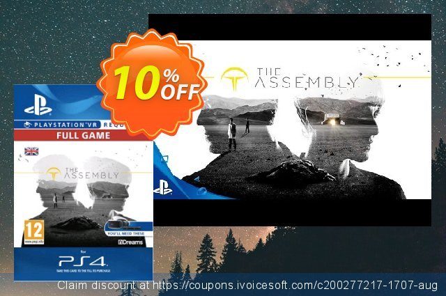 The Assembly VR PS4 discount 10% OFF, 2020 Halloween offering discount