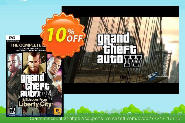 Grand Theft Auto IV 4: Complete Edition PC  대단하   촉진  스크린 샷