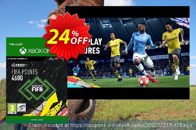 FIFA 20 - 4600 FUT Points Xbox One discount 10% OFF, 2020 University Student deals discount