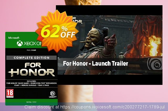 For Honor Complete Edition Xbox One  놀라운   제공  스크린 샷