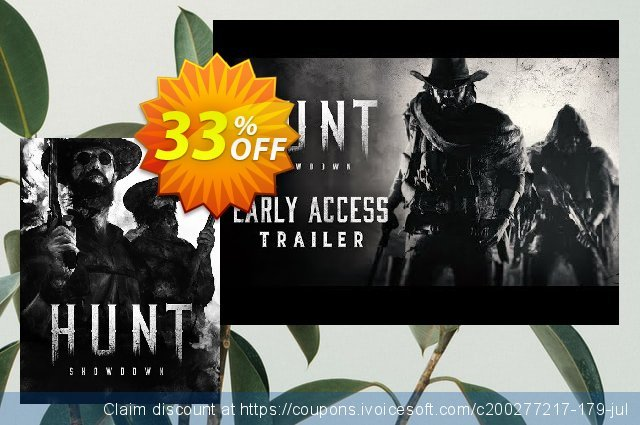 Hunt: Showdown PC discount 38% OFF, 2021 Mother's Day offering sales. Hunt: Showdown PC Deal