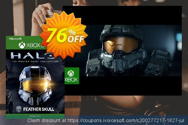 Halo The Master Chief Collection - Feather Skull DLC Xbox One discount 75% OFF, 2020 College Student deals offering sales