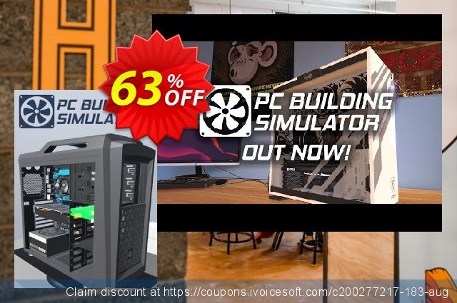 PC Building Simulator PC discount 57% OFF, 2021 Mother's Day offering sales. PC Building Simulator PC Deal
