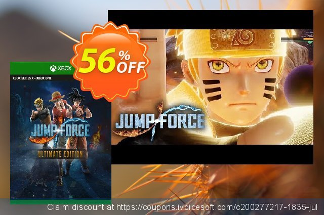 Jump Force Ultimate Edition Xbox One discount 22% OFF, 2020 Back-to-School promotions discounts