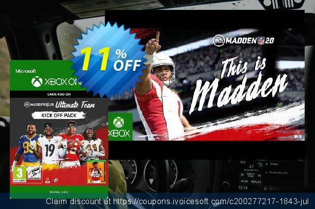 Madden NFL 20: Ultimate Team Kick Off Pack Xbox One 壮丽的 交易 软件截图