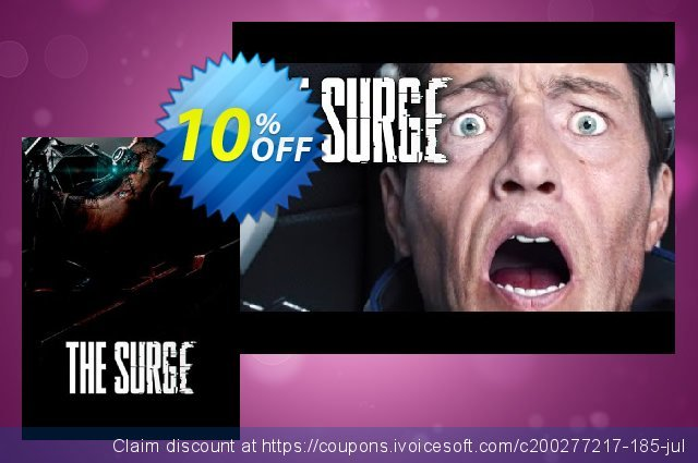 The Surge PC discount 10% OFF, 2021 Happy New Year offering sales