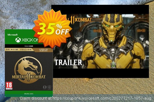 Mortal Kombat 11 Premium Edition Xbox One  대단하   촉진  스크린 샷