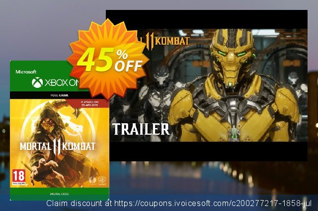 Mortal Kombat 11 Xbox One discount 13% OFF, 2020 Back to School shopping offer