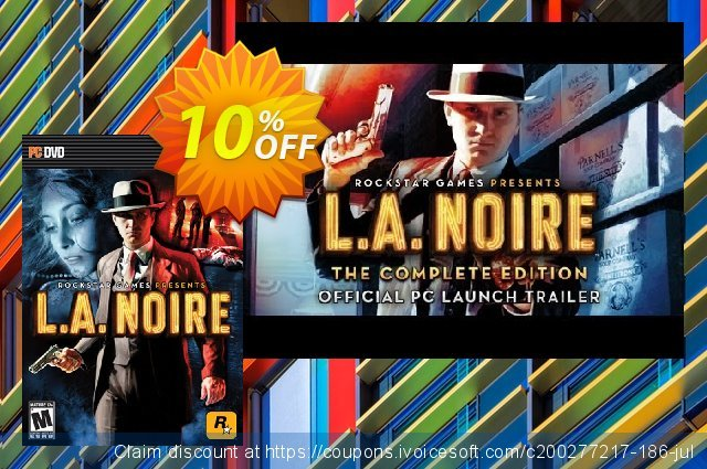 L.A. Noire Complete Edition PC 驚き 割引 スクリーンショット