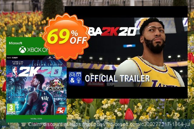 NBA 2K20: Legendary Edition Xbox One 最佳的 折扣码 软件截图