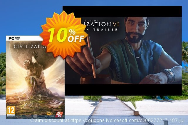 Sid Meiers Civilization VI 6 PC - DLC 独占 扣头 软件截图