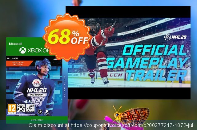 NHL 20: Deluxe Edition Xbox One discount 50% OFF, 2020 College Student deals offering sales