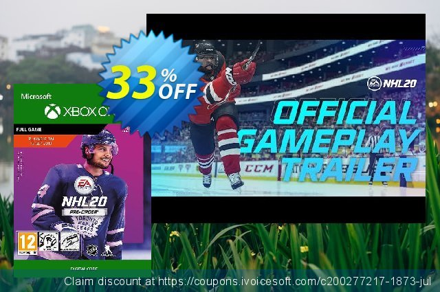 NHL 20: Standard Edition Xbox One discount 37% OFF, 2020 Back to School Promos discounts