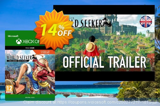 One Piece World Seeker Deluxe Edition Xbox One discount 14% OFF, 2020 Back to School promo sales