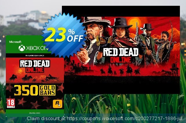 Red Dead Online: 350 Gold Bars Xbox One discount 11% OFF, 2020 Exclusive Teacher discount offering sales