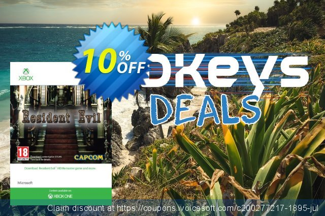 Resident Evil HD Xbox One discount 10% OFF, 2020 Back to School promotion deals