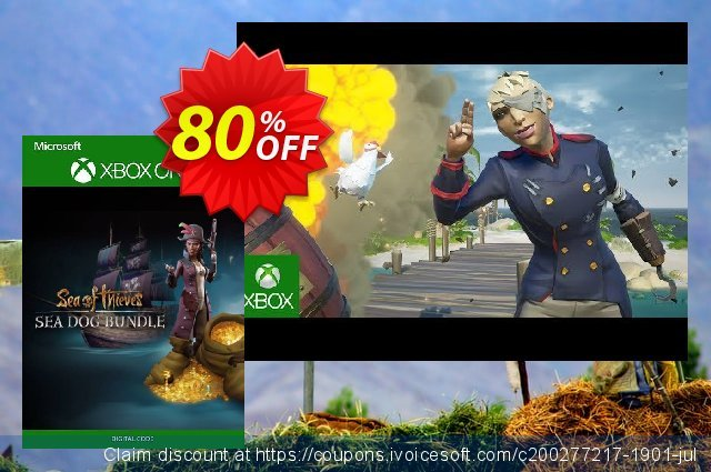 Sea of Thieves Sea Dog Pack Xbox One / PC 대단하다  제공  스크린 샷