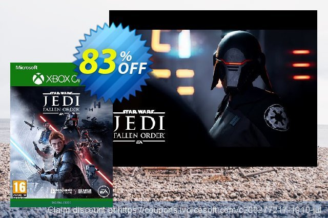 Star Wars Jedi: Fallen Order Xbox One 激动的 产品销售 软件截图