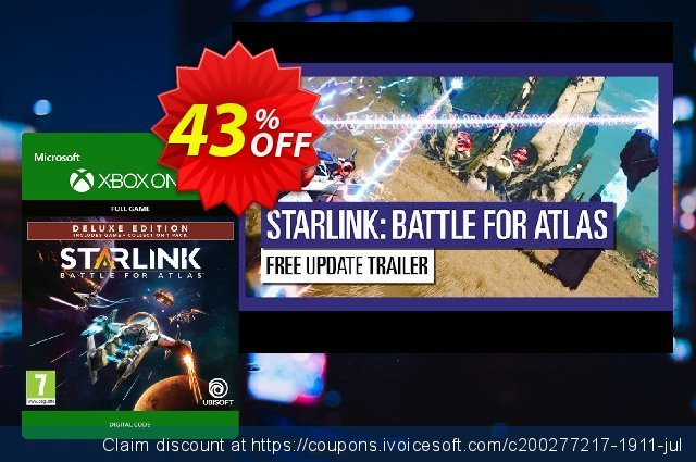 Starlink Battle for Atlas Deluxe Edition Xbox One discount 10% OFF, 2020 College Student deals discounts
