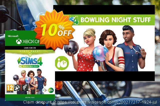 The Sims 4 - Bowling Night Stuff Xbox One discount 10% OFF, 2020 Back to School season offering sales