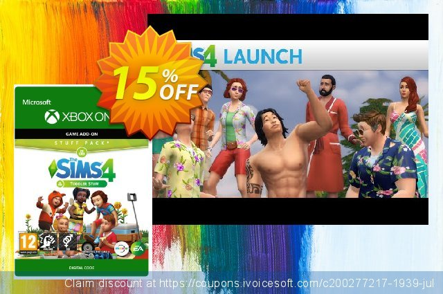 The Sims 4 -Toddler Stuff Xbox One discount 10% OFF, 2020 Back to School event promo sales